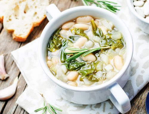 Garlicky Chard and White Bean Soup